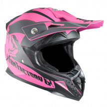 Casque cross enfant rose Xtrm 2020
