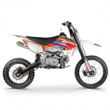Dirt bike 125cc orange mécanique 17/14 pouces