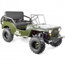 Jeep enfant 150cc verte 2 places automatique