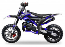 Moto Bike cross Cheetah Deluxe 49cc bleue 10/10 pouces