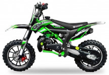 Moto bike cross Cheetah Deluxe 49cc verte 10/10 pouces