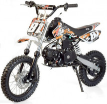 Moto cross 140cc orange 17/14 pouces