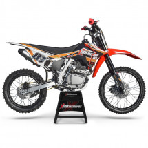 Moto cross 150cc orange 19/16 pouces BSE150
