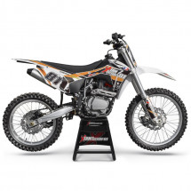 Moto cross 250cc orange 21/18 pouces