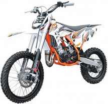 Moto cross 90cc orange 19/16 pouces