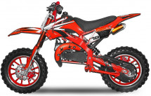 Moto cross Apollo 49cc rouge 10/10 pouces