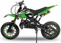 Moto cross Apollo 49cc verte 10/10 pouces
