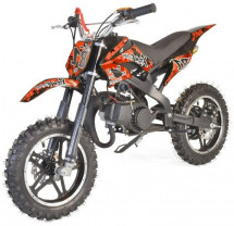 Moto cross Eco 49cc orange 10/10 pouces