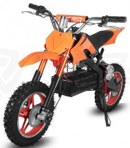 Moto cross Eco Apollo 800W orange 10/10 pouces