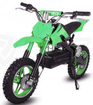 Moto cross Eco Apollo 800W verte 10/10 pouces