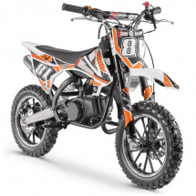 Moto cross enfant 50cc orange Start 10/10 pouces