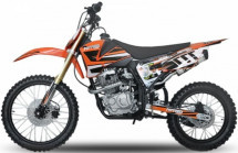 Moto cross Hurricane 250cc orange 19/16 pouces