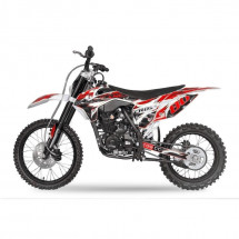 Moto cross Hurricane 250cc rouge 19/16 pouces