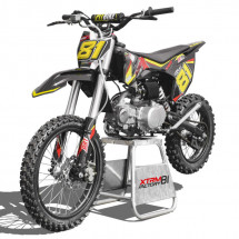 Moto cross MX 125cc orange 17/14 pouces