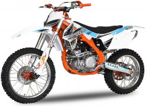 Moto cross Nitro Ultime 250cc orange 21/18 pouces