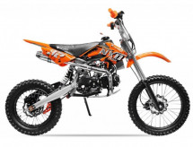 Moto cross NXD Prime M17 125cc orange mécanique 17/14 pouces