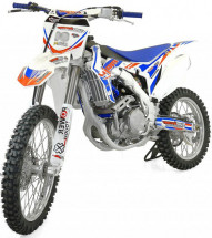 Moto cross Racing 250cc bleue 21/18 pouces