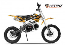 Moto cross Sky Deluxe 125cc orange 17/14 pouces
