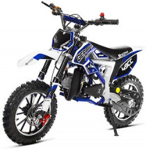 Pocket bike cross Cheetah Deluxe Sport 49cc bleue 10/10 pouces