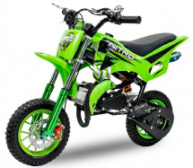 Pocket bike DS67 Sport 49cc verte 8/8 pouces
