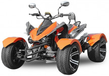 Quad adulte 300cc homologué Jinling RS14 Racing orange 14 pouces