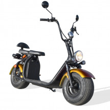 Scooter Citycoco 1500W lithium doré