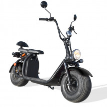 Scooter Citycoco 1500W lithium noir