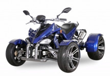 Spy Racing 350cc F3 injection bleu quad Homologué