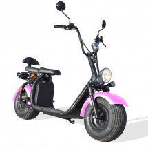 Trottinette Citycoco 1500W lithium rose